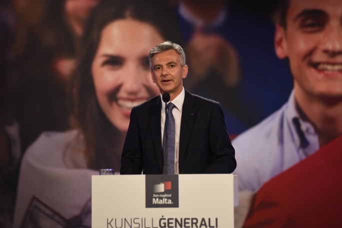 [WATCH] Nationalist Party launches manifesto for 'socially just, corruption-free' Malta