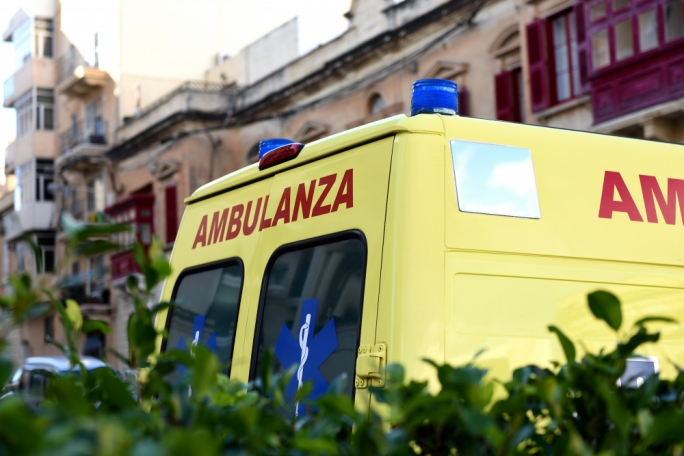 Romanian hospitalised after four-car collision in Marsascala