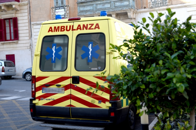 Man hospitalised after falling from ladder at Gozo farm