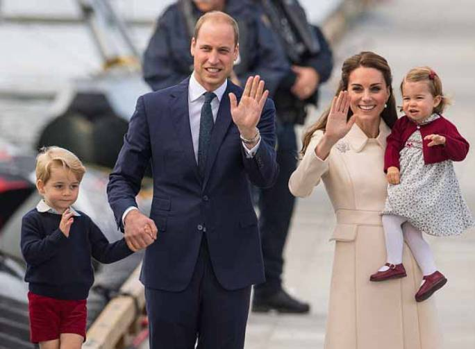 The Duke and Duchess of Cambridge family photo. Source: The Daily Mail