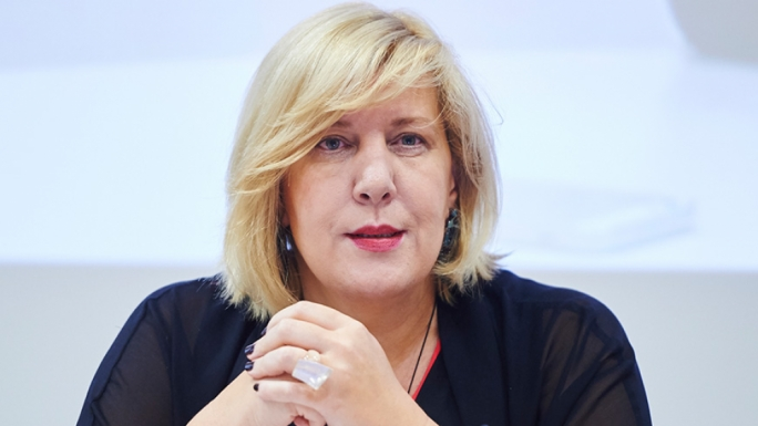 Dunja Mijatović is the Council of Europe Commissioner for Human Rights
