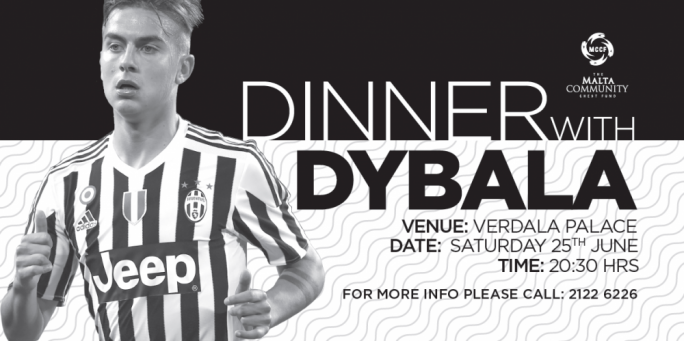 fancy dinner with paulo dybala you can for 80 maltatoday com mt
