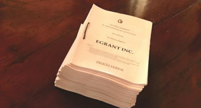 The Egrant inquiry is 1,500 pages long but only its conclusions have been published
