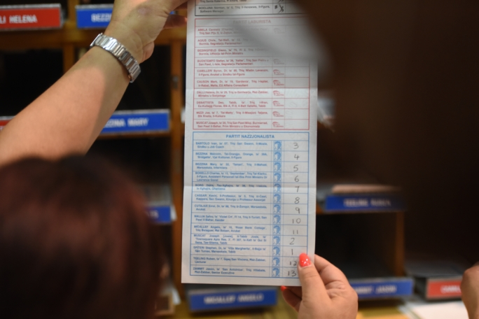 European election ballot sheet will be the longest so far