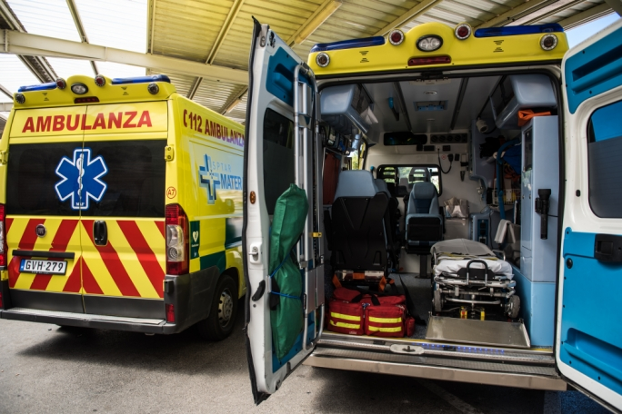 Man seriously injured after falling height of two storeys