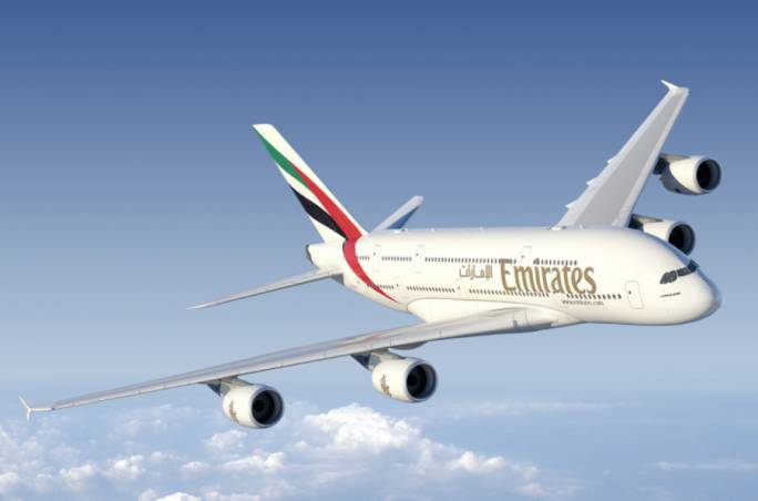 Emirates A380 (Photo: Master Films)