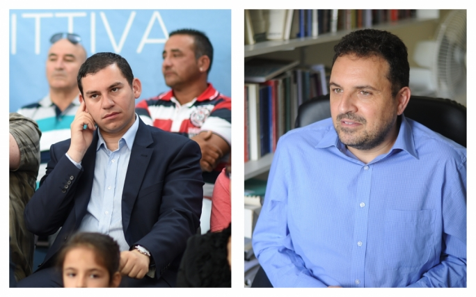Cyrus Engerer (left), and Michael Briguglio (right) will be contesting MEP elections