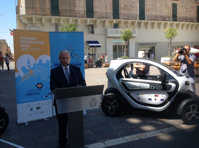 Ministers unite to launch European Mobility Week