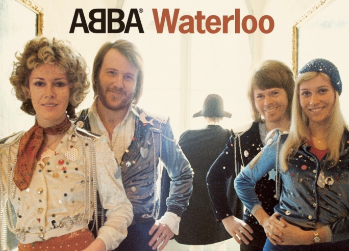 ABBA won the 1974 Eurovision contest with Waterloo