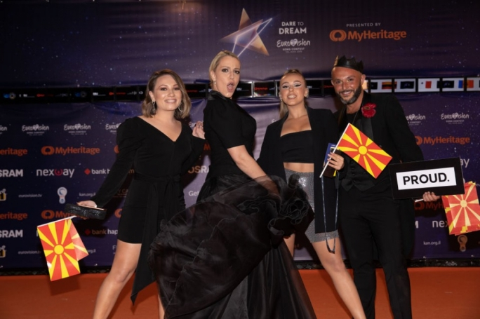 Tamara Todevska is representing North Macedonia in this year's Eurovision