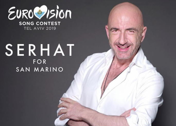 Turkish performer Serhat represents the tiny republic of San Marino