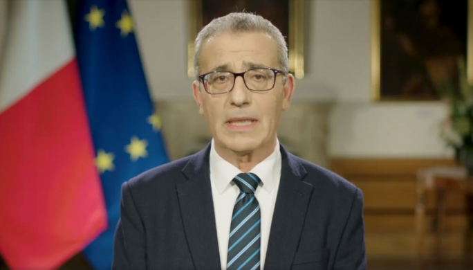Foreign Minister Evarist Bartolo appealed to the EU to launch an aid mission to Libya in a webstreamed address on Monday