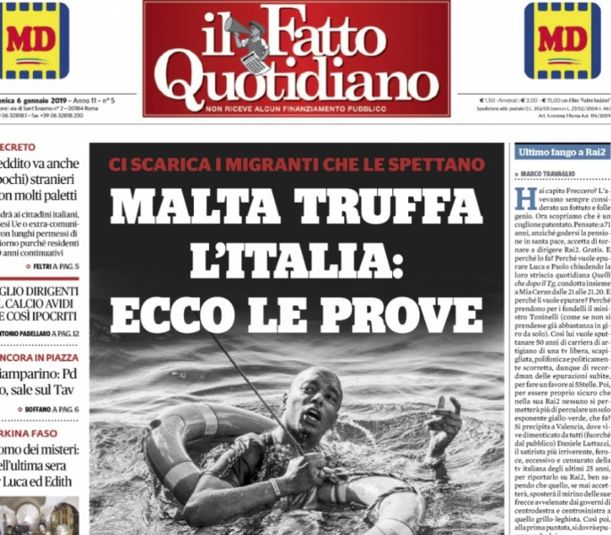 Migrant testifies how Malta directed boat in distress towards Italy