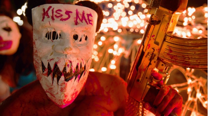 The murderbabes attack: The Purge: Election Year takes America's cultural mores to a ludicrous but logical conclusion