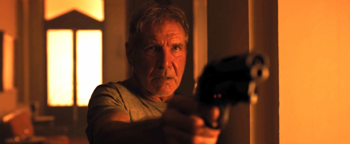 'I had your job': Harrison Ford
