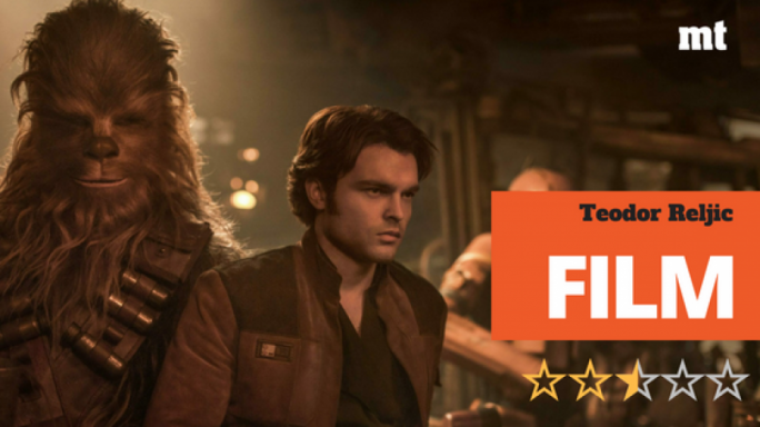 Best friends forever Han Solo (Alden Ehrenreich) and Chewbacca (Joonas Suotamo) meet for the very first time in Solo: A Star Wars Story