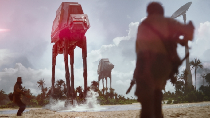 We will fight them on the beaches: Director Gareth Edwards brings a raw realism to the battle sequences of Rogue One – possibly the first bona fide 'war' movie in the Star Wars stable