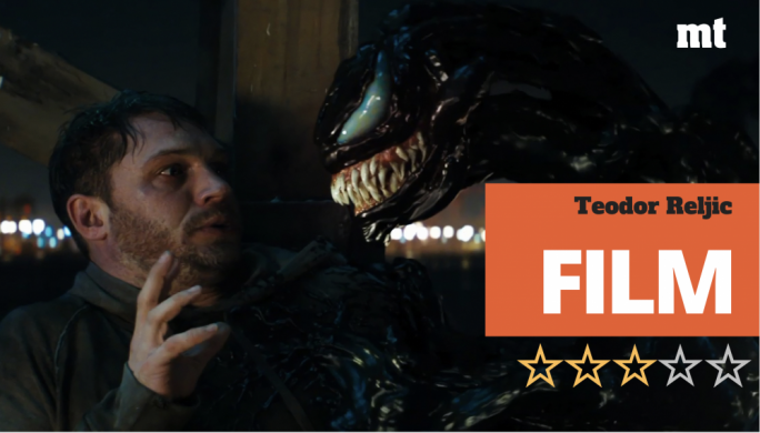 High-energy crowdpleaser for the inner teenager: Tom Hardy is in thrall of a murderous alien symbiote in search of a host