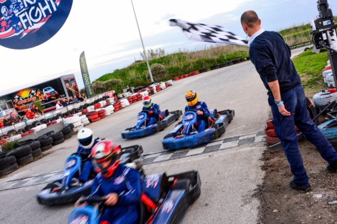 The Red Bull Kart Fight