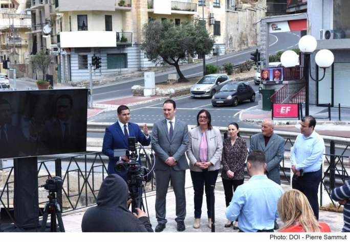 The two new flyovers will be replacing the traffic light system in the busy Msida junction