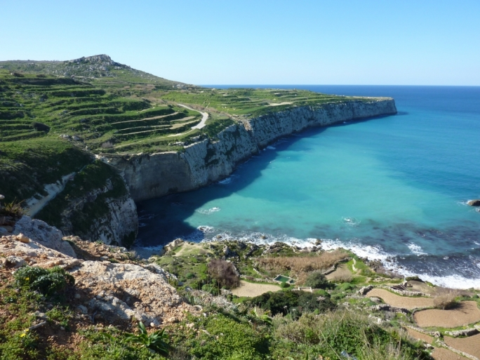 Fomm ir-Rih, one of the sites proposed by Friends of the Earth Malta to fall under the Public Domain Act