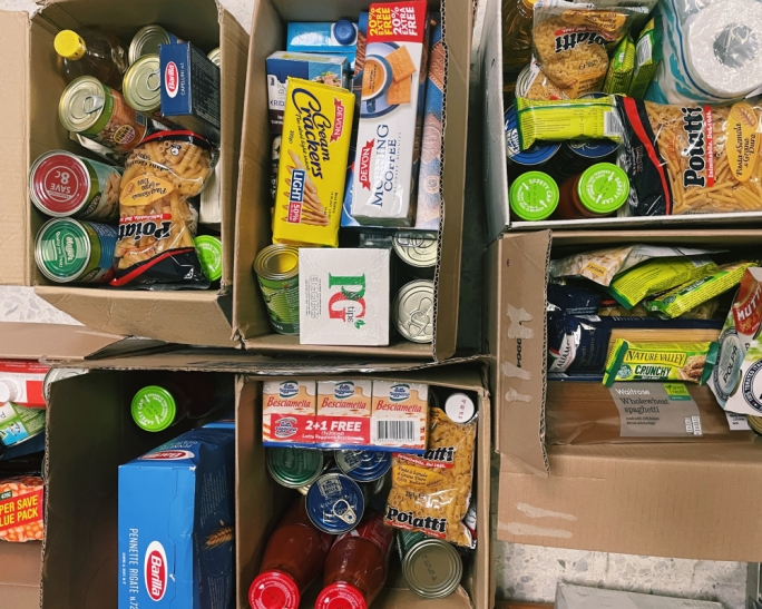 MaltaToday staff donates for reverse advent calendar