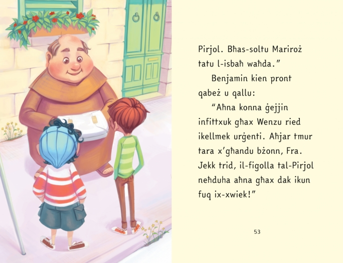 Return of the jolly friar: Fra Mudest gets children's book rebrand
