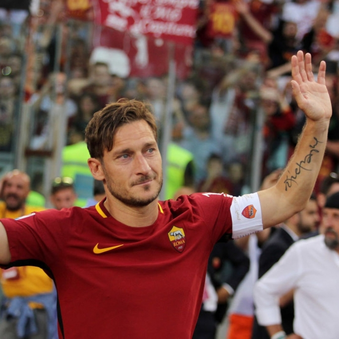Former Roma player Francesco Totti has quit his directorship at the club he has always militated in