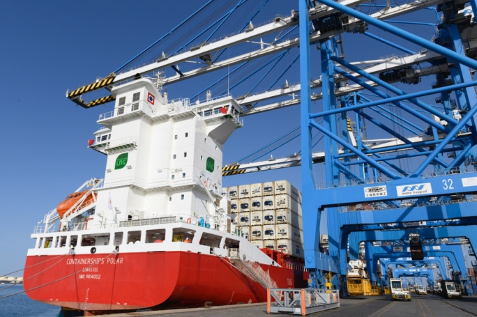 The first LNG-powered ship to visit Malta Freeport is one of four such vessels put into service by CMA CGM