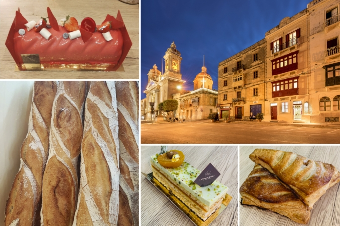 A French boulangerie-pâtisserie in Senglea worth writing home about