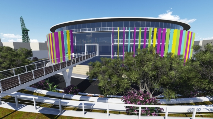 Artist's impression of the new Creative Centre in Marsa