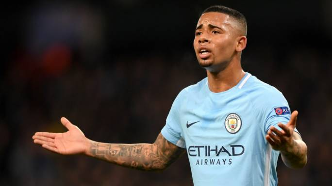 Gabriel Jesus of Manchester City