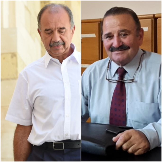 Two of the shareholders in Jimp Ltd, the sole shareholding company in Berracimp Properties: Gozo lawyer Carmelo Galea, and retired judge Dennis Montebello. In 1992 their company secured the Gozo lands on an emphyteusis of just Lm500 a year, for 150 years