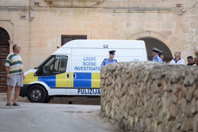 Police and an ambulance are currently on site. (Photo:James Bianchi/MaltaToday)