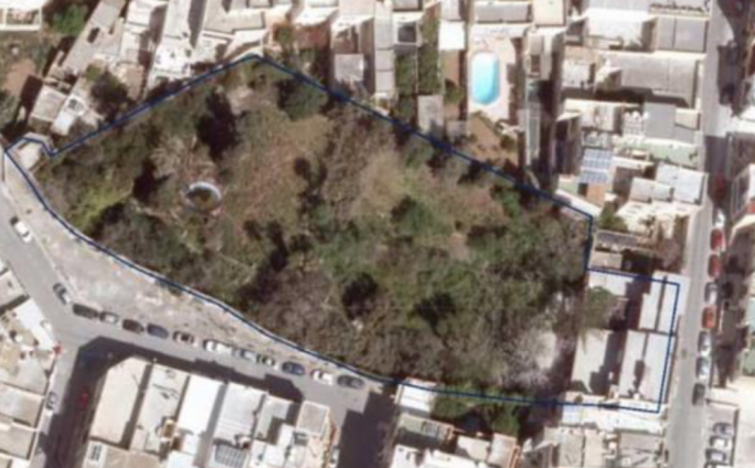 The large garden in Għaxaq is 250 years old and scheduled