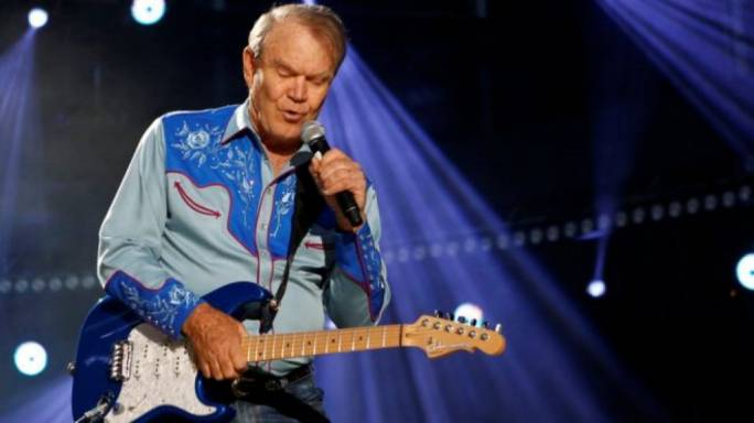 Glen Campbell performs in Nashville, Tennessee, in 2012