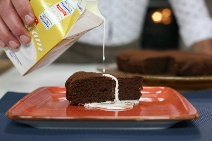 Rich, gluten-free chocolate cake