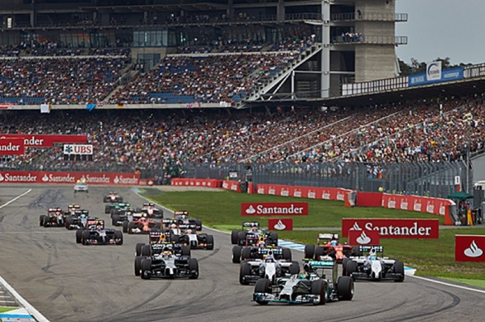 The German grand prix has been held in alternate years recently