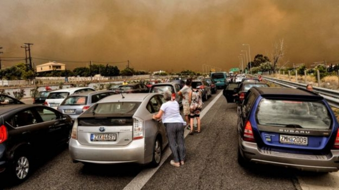 The wildfires are the worst to hit Greece since 2007