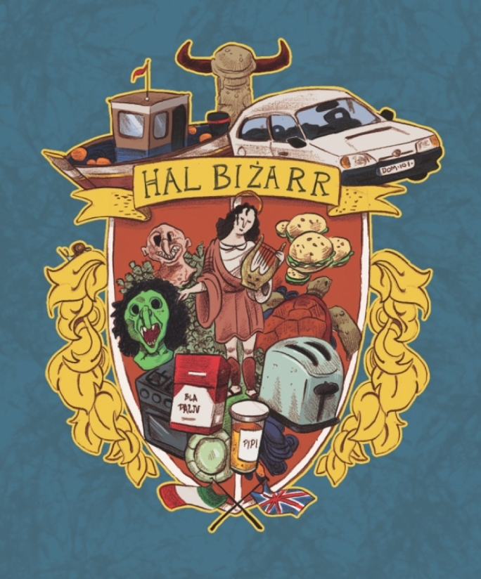 Illustration for Only in Hal Bizarr by Mark Scicluna