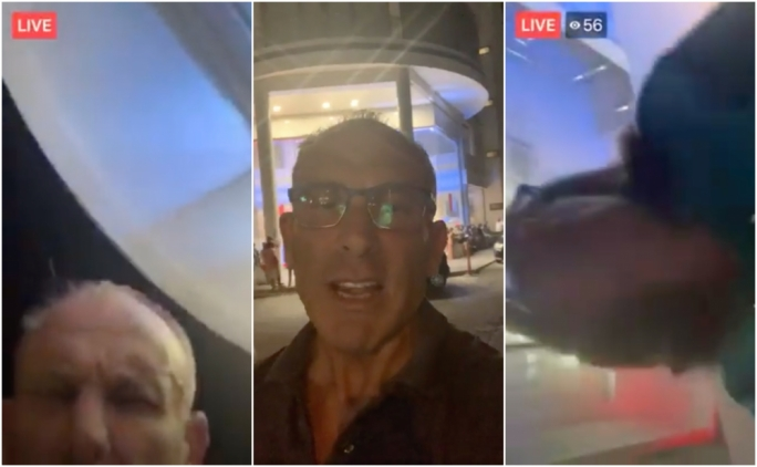 [WATCH] Realtà presenter accidentally livestreams himself advising Delia's people on show of force
