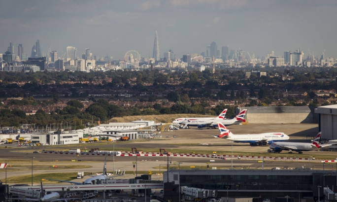 Flights from Heathrow have been suspended after the sighting of drone