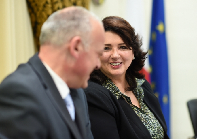 Civil liberties minister Helena Dalli (Photo: Ray Attard)