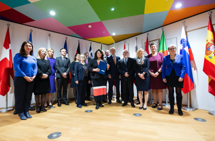 Earlier in the week 19 member states of the European Union, on a Maltese initiative, signed a joint informal document against the discrimination and abuse of LGBTI people