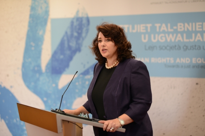 Bold: Helena Dalli is a champion of civil liberties and equality
