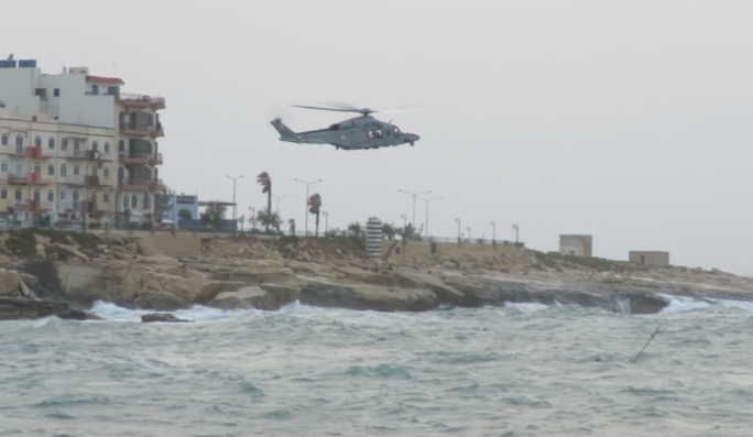 The army is searching for a man who remains missing after a fishing vessel capsized in Marsaskala