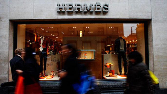 Hermes announced it would pay a special dividend of five euros a share, on top of its 4.10 euro annual payment