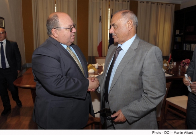 Mallia meets Libyan interior minister over fuel smuggling