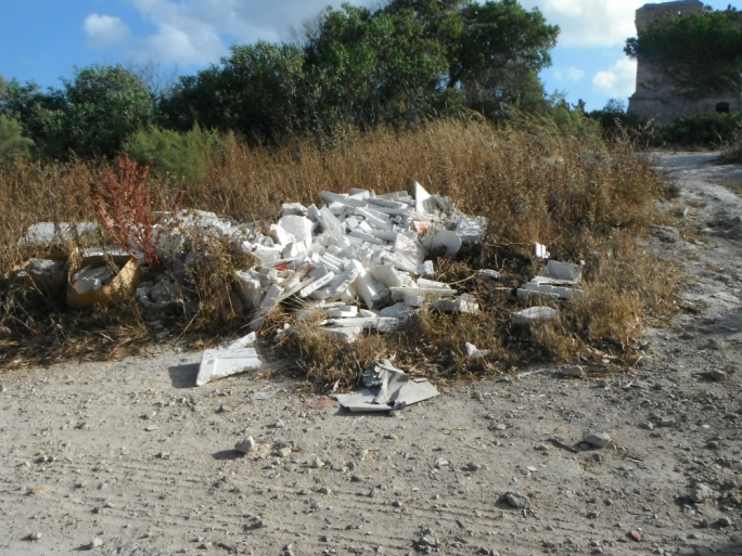 Marsaxlokk has become a dumping site, with rubbish marring the seaside village