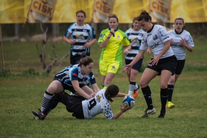 Action from the Overseas - Kavallieri match: Photo by Ian Aquilina